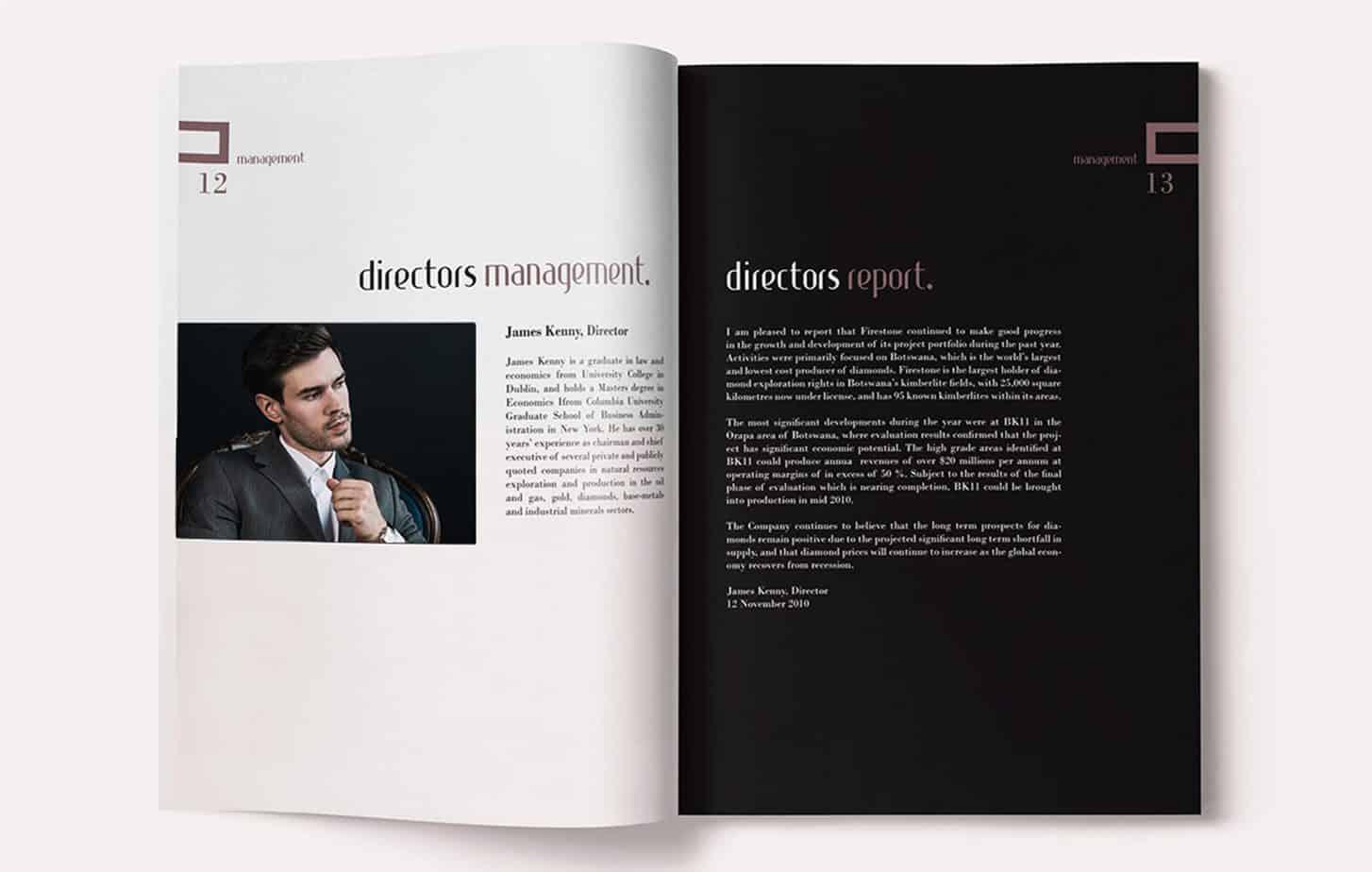 Graphiclagoon Annual_report3 Graphic Design