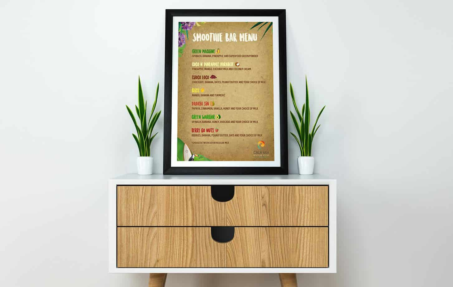Graphiclagoon Cala_mia_menus2 Graphic Design
