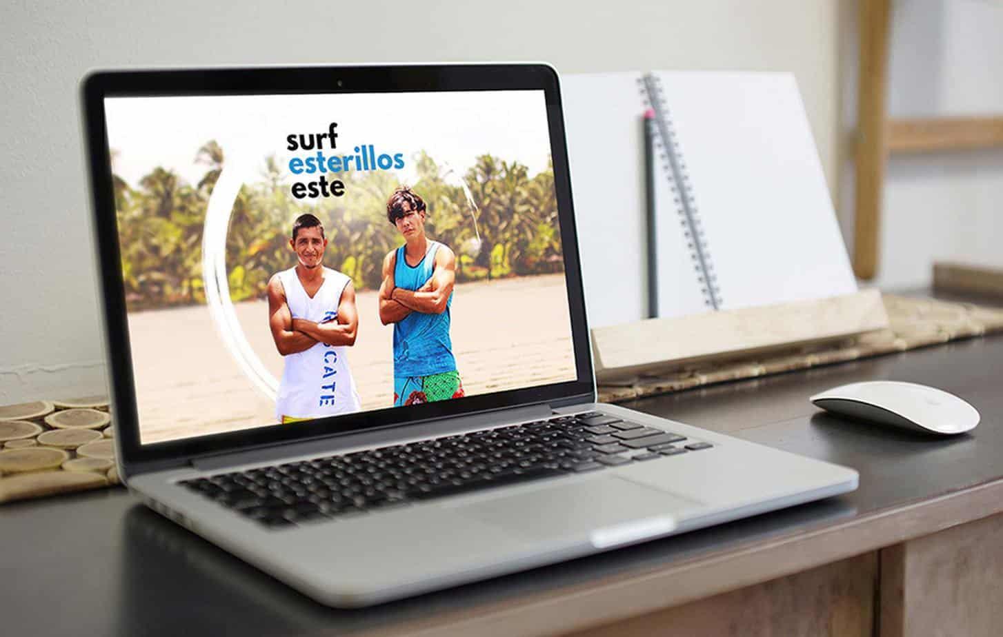 Graphiclagoon surf_website Surf Esterillos Este